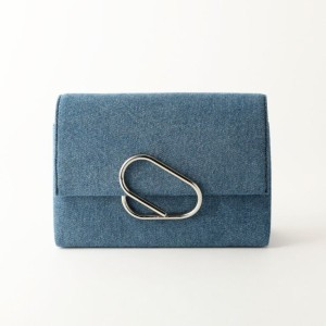 SALE【ギルドプライム(GUILD PRIME)】 【3.1 Phillip Lim】バッグ-ALIX SOFT FLAP CLUTCH AE17-A038- ブルー