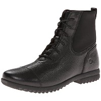 Bogs Womens Alexandria Lace Waterproof Leather Boot  Black 10.5 M US