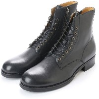 【SALE 30%OFF】フーピー whoop'EE' whoopEE/フーピー(304523) 本革 レースアップブーツ (BL) メンズ