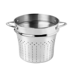 カルファロン 8Qtポット用パスタインサート Calphalon Contemporary Nonstick 8-Quart Stainless-Steel Pasta Insert JR808PI