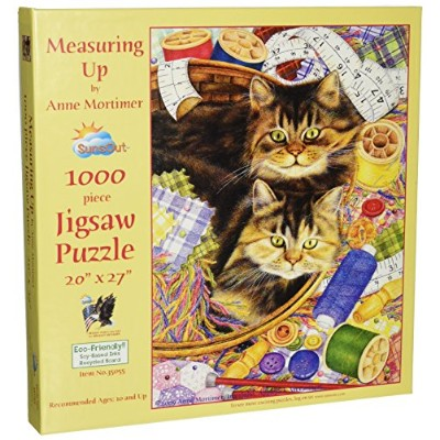 SunsOut 35055 1000 Piece Measuring Upパズルアートとクラフト製品