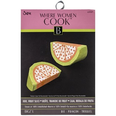 "Sizzix Bigz Large Die By Where Women Cook 6""X8.75""-Fruit Slice Box (並行輸入品)"