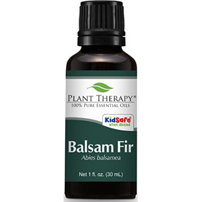 Balsam Fir Essential Oil. 100% Pure, Undiluted, Therapeutic Grade (30 ml)
