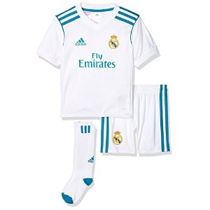 2017-2018 Real Madrid Adidas Home Mini Kit