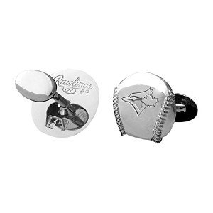 MLBトロントブルージェイズEngraved Cuff Links