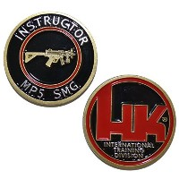 Heckler and Kochインストラクターmp5 SMG – Challenge Coin