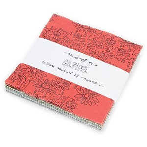 Alpine Charm Pack By Erin Michael; 42 - 5 Precut Fabric Quilt Squares by moda