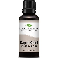 Rapid Relief Synergy (Formerly Pain-Aid). Essential Oil Blend. 30 ml (1 oz). 100% Pure, Undiluted,...