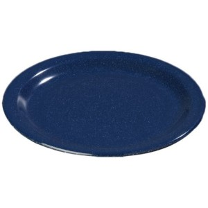 Carlisle 4350535 Dallas Ware Melamine Bread and Butter Plate, 0.66 x 5.58', Cafe Blue (Case of 48) ...
