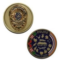 アコマ・プエブロPatrolman Police New Mexico the Sky City – Challenge Coin