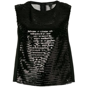 Marc Jacobs - sequin shell top - women - シルク/ポリエステル - 6