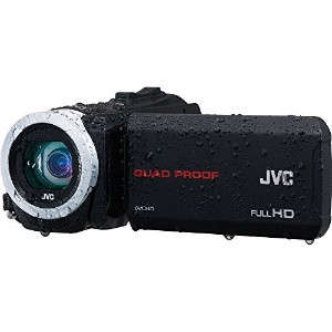 【JVC Everio GZ-R70 Quad Proof Full HD Digital Video Camera Camcorder (Black) by JVC】
