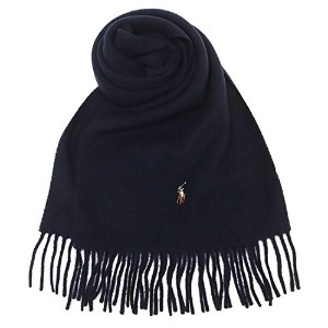 ポロラルフローレン マフラー POLO RALPH LAUREN PC0001 433 SIGNATURE ITALIAN VIRGIN WOOL SCARF 約W30cm×H183cm ウール...