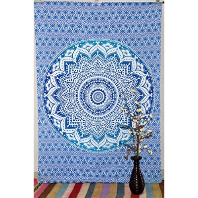 Indian Wall Twin Mandala Tapestry Throw Tapestries Hippie Wall Hanging Bed Cover Art