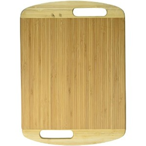Vina Premium Bamboo Cutting Board - Extra Large 16 x 11.5 Kitchen Chopping board Serving Platter...