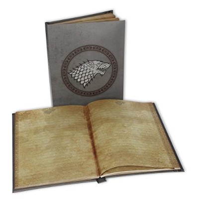 Game of Thrones Note Book with Light-up function, house Stark