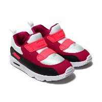 NIKE AIR MAX TINY 90 (TD)(ナイキ エア マックス タイニー 90 TD)WHITE/NOBLE RED-ANTHRACITE-SOLAR RED【キッズ スニーカー...