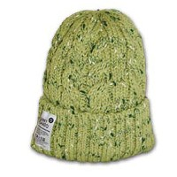 OUTDOOR ROPE KNIT WATCH CAP(アウトドアニット帽) (KA×GRN)