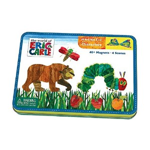 Mudpuppy Eric Carle The Very Hungry Caterpillar & Friends Magnetic Character Set [並行輸入品]
