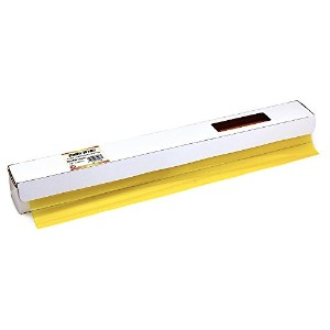 Hygloss 71008 Cello Gift Wrap Roll in Cutter Box, 20-Inch by 100-Feet, Yellow (Amber) by Hygloss