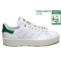 adidas Originals STAN SMITH BD W S32266 RUNNING WHITE/RUNNING WHITE/GREENアディダス オリジナルス スタンスミス ボールド...