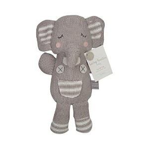 Living Textiles Plush Toy, Theodore Elephant by Living Textiles