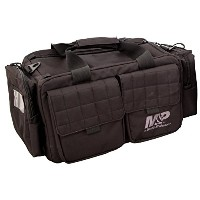Smith & Wesson Gear MP Officer Tactical Range Bag with Weather Resistant材質ガンピストルの撮影Ammoビデ、ハンティング