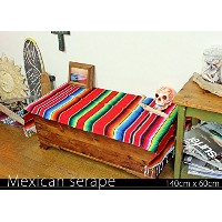 RUG&PIECE Mexican Serape made in mexcico ネイティブ メキシカン サラペ メキシコ製(rug-5886)