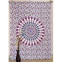 Mandala Tapestry Twin Wall Hanging Gypsy Tapestries Hippie Bedspread Blanket