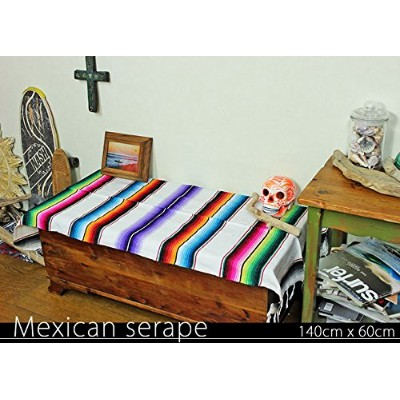 RUG&PIECE Mexican Serape made in mexcico ネイティブ メキシカン サラペ メキシコ製(rug-5882)