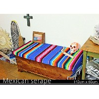 RUG&PIECE Mexican Serape made in mexcico ネイティブ メキシカン サラペ メキシコ製(rug-5890)