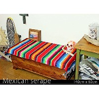 RUG&PIECE Mexican Serape made in mexcico ネイティブ メキシカン サラペ メキシコ製(rug-5883)