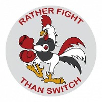 【INDEPENDENT】インディペンデント【Rather Fight Decal Sticker】4inch (約10.2cm)【スケート】ステッカー