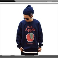 afterbase [RED APPLE] CREW NECK SWEAT