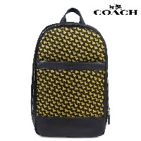 COACH コーチ バッグ リュック メンズ バックパック CHARLES SLIM BACKPACK WITH BUNNY PRINT F22372 ブラック