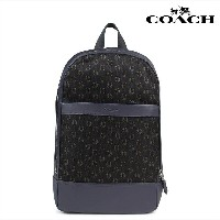 COACH コーチ バッグ リュック メンズ バックパック CHARLES SLIM BACKPACK WITH HORSESHOE PRINT F25268 ネイビー