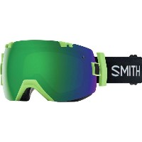 スミス メンズ スキー・スノーボード ゴーグル【I/OX Chromapop Goggles with Bonus Lens】Reactor Tracking/Chromapop Sun Green...