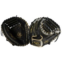 ローリングス メンズ 野球 グローブ【Rawlings Heart of the Hide Color Sync Series】Black/Grey/Metallic Gold