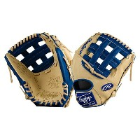 ローリングス メンズ 野球 グローブ【Rawlings Heart of the Hide Color Sync Series】Camel/Royal