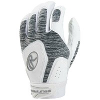ローリングス レディース 野球 グローブ【Rawlings Storm Fastpitch Batting Glove】White/Grey