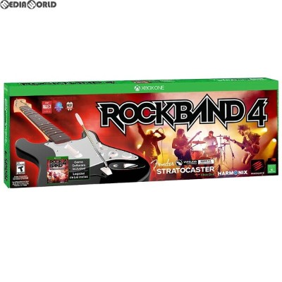 【中古】[XboxOne]Rock Band 4(ロックバンド4) Wireless Fender Stratocaster Guitar Controller Bundle(北米版)...