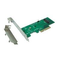 Ableconn PEXM2-SSD M.2 NGFF PCIe SSD を PCI Express 3.0 x4 に接続するホストアダプタカード - M.2 NGFF PCIe (NVMe または...