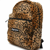 SUPREME(シュプリーム) Leopard Fleece Backpack (バックパック) YELLOW 276-000274-018+【新品】
