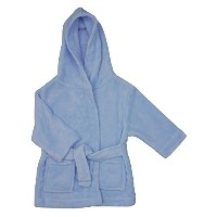 Infants Fleece Dressing Gown – ピンクまたはブルー – 6 to 24 Months カラー: ピンク