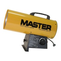 Master MH-60V-GFA 60,000 BTU LP Forced Air Heater, Variable Output by Master