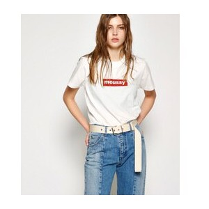 early moussy TSJ Ⅲ【マウジー/MOUSSY レディス Tシャツ・カットソー 柄RED ルミネ LUMINE】