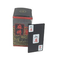 Traditional Chinese Mahjong Playingカード144カードセットw3177