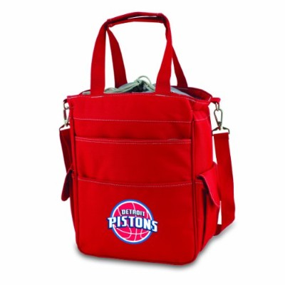 NBA Detroit Pistons Insulated Activoクーラートートバッグ、レッド