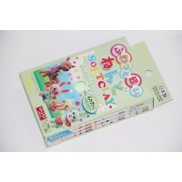 Daiso Japan Mint Green Color Soft Modeling Clay 10 Color Variations Made in Japan By Daiso Japan ...
