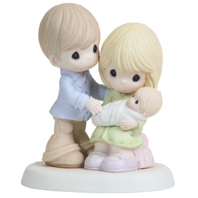 Precious Moments、ベビーギフト、in our heartsからThe Very開始、Bisque Porcelain Figurine , # 112004by Precious...